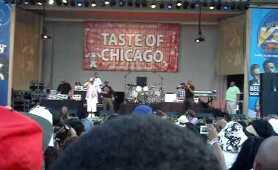 """Doug E. Fresh and Slick Rick """"Lodi Dodi"""" at Taste of Chicago 2010"""