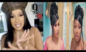 Cardi B Claps Back At Trollz Who Said Her Career Was Over!