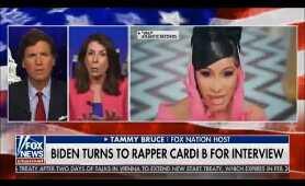 """Cardi B, """"W.A.P."""" & Joe Biden, Tucker Carlson & Tammy Bruce Go Off"""