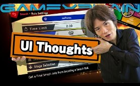 Sakurai on Clear UI & Menus; Thinks Checkboxes Should Be More Common