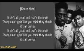 De La Soul - All Good? ft. Chaka Khan (Lyrics)