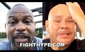 """""""I F*CKED UP"""" - ROY JONES JR. & FAT JOE TELL ALL ON CONFRONTATION OVER """"FORCED TO LEAN BACK"""" LINE"""