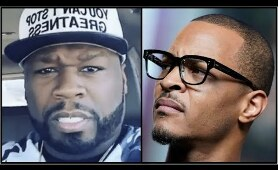 TI Not Scared Of 50 CENT & Challenges Him To Battle (50 Reacts)