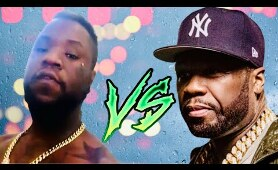 50 Cent goes BANNAS on rapper NFL Dume at a New Jersey sports bar