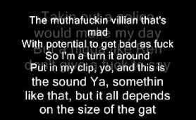 N.W.A. fuck the police with lyrics